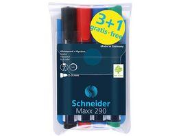 Schneider Board Marker Maxx 290 4er Etui