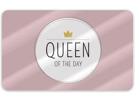 Geschenk fuer Dich Brettchen Queen of the Day 23x14cm
