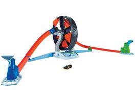Hot Wheels Super Stunt Rad Spielset Rennbahn inkl 2 Spielzeugautos