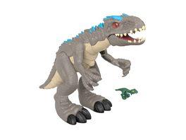 Imaginext Jurassic World Schleuderaction Indominus Rex Dinosaurier