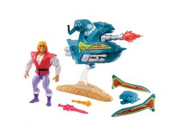 Mattel Masters of the Universe Origins Skysled Prinz Adam Schlitten fuer 14 cm Figuren