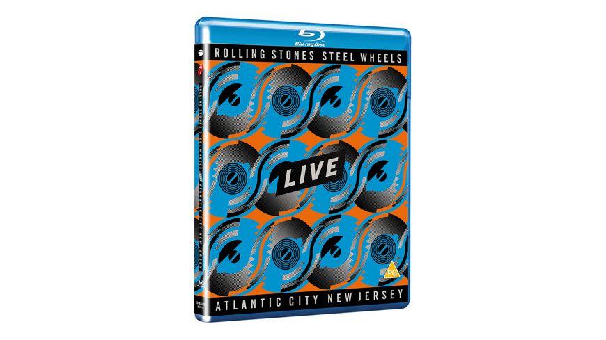 Steel Wheels Live Atlantic City 1989 Blu Ray