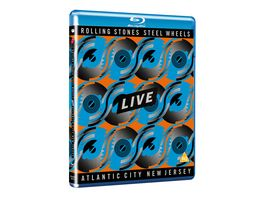 Steel Wheels Live Atlantic City 1989 Blu Ray