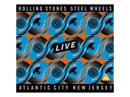Steel Wheels Live Atlantic City 1989 DVD 2CD