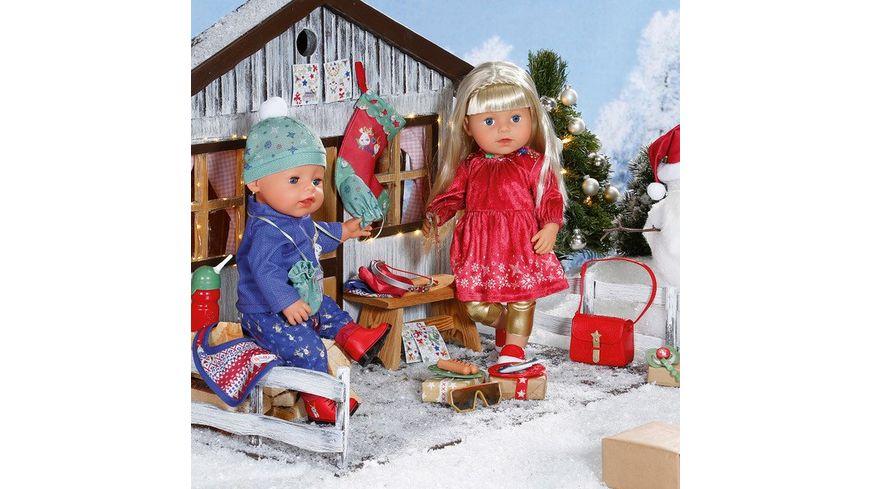 Zapf Creation BABY born Adventskalender 24 Ueberraschungen im weihnachtlichen Style