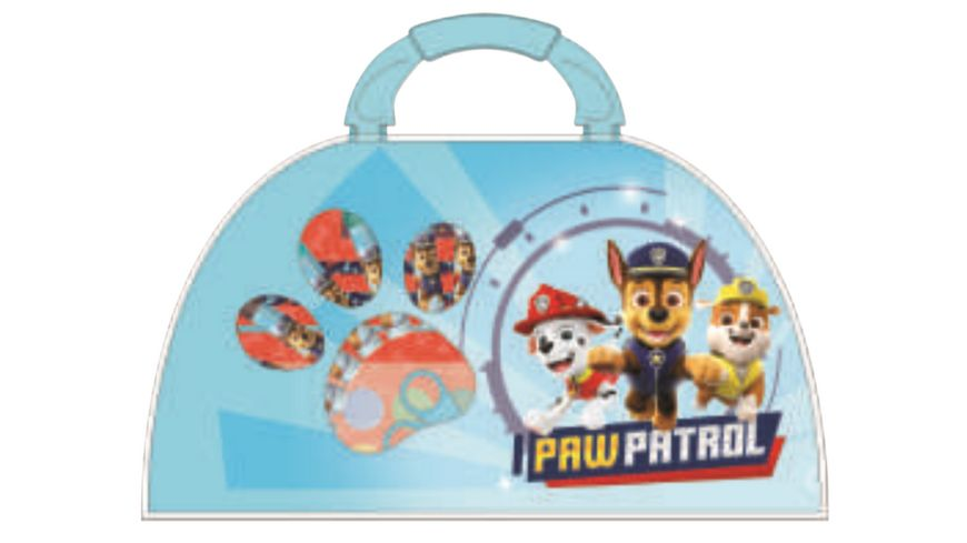 undercover paw patrol malkoffer 51 teilig
