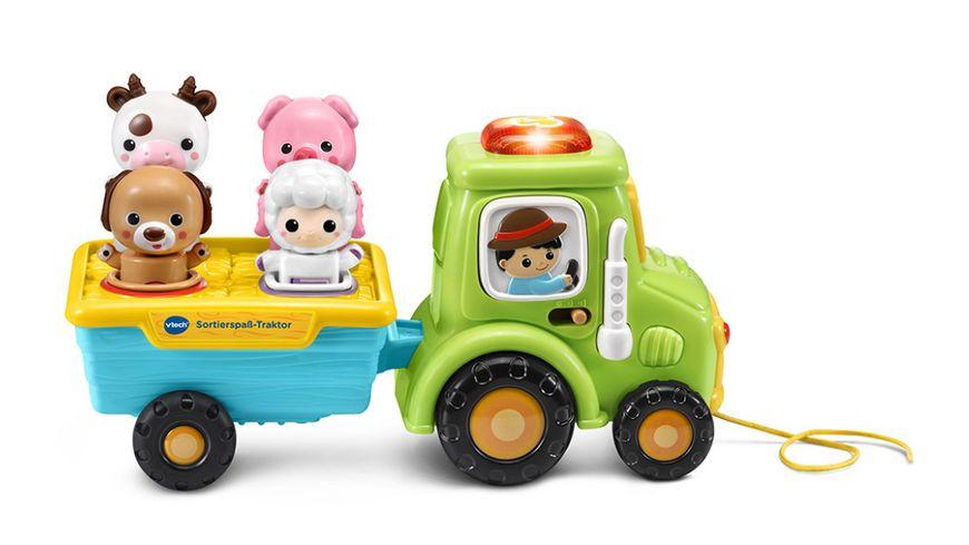 VTech - Baby - Sortierspaß-Traktor