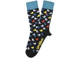 Unabux Socken Wale Unisex