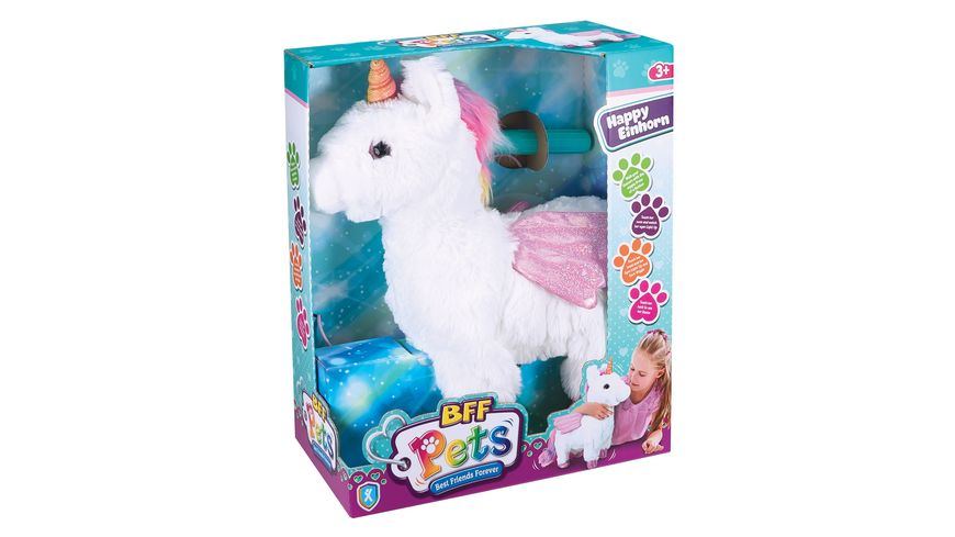 BFF Pets HAPPY Einhorn