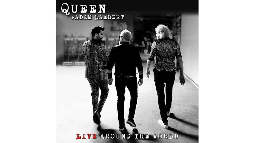 Live Around The World CD Bluray
