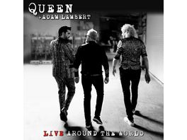 Live Around The World CD Bluray
