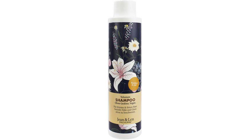 Jean&Len Volumen Shampoo Bambus/Lilie