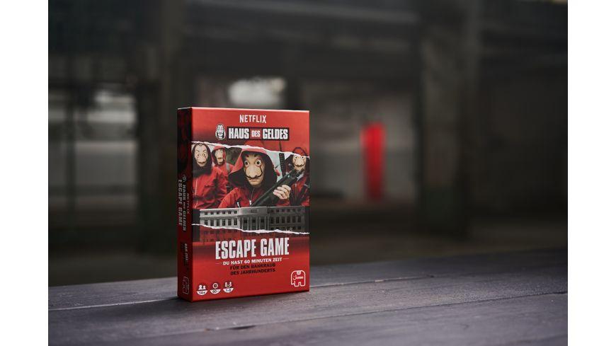Jumbo Spiele Haus des Geldes Escape Game