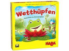 HABA Wetthuepfen