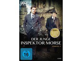 Der junge Inspektor Morse Staffel 5 3 DVDs