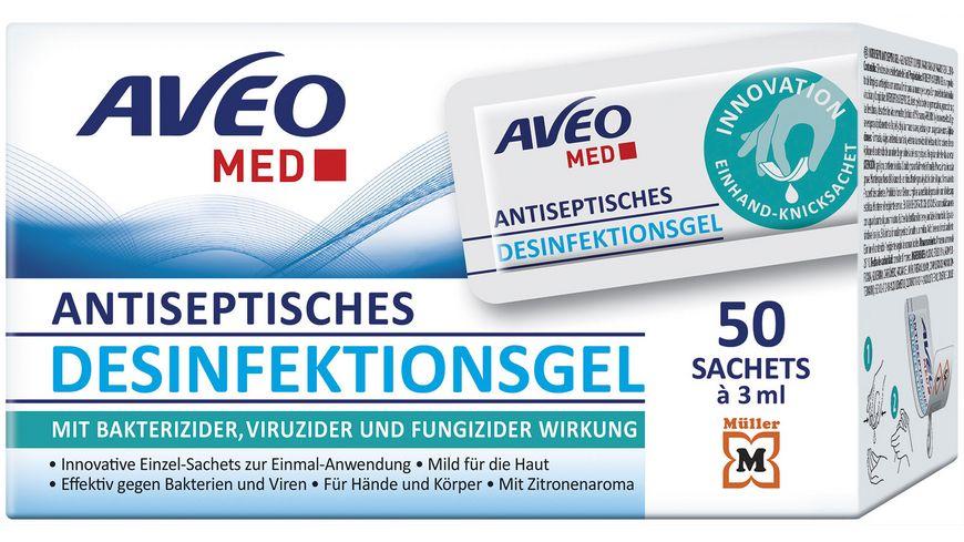 AVEO MED Desinfektions-Intersept Antiseptic Gel