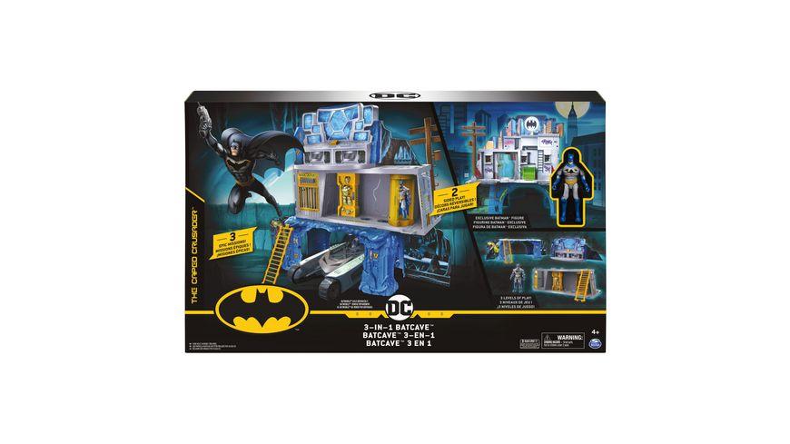 Spin Master - Batman - Mission Playset (für 10 cm Figuren)