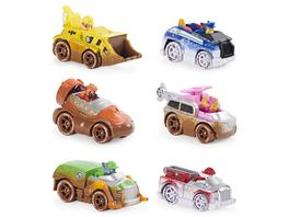 Spin Master Paw Patrol True Metal Offroad Mud 6 Pack Gift Set