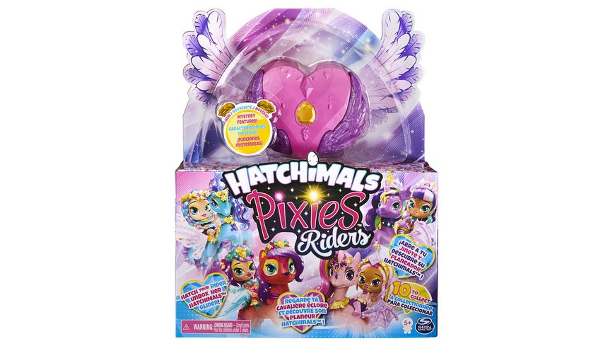 Spin Master - Hatchimals - Pixies Riders