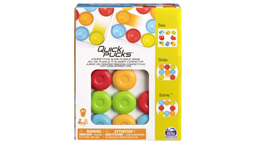 Spin Master Games Quick Pucks