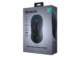 NACON PC Wireless Gaming Mouse GM 180 Kabellos max 2200dpi mehrfarbige Beleuchtung