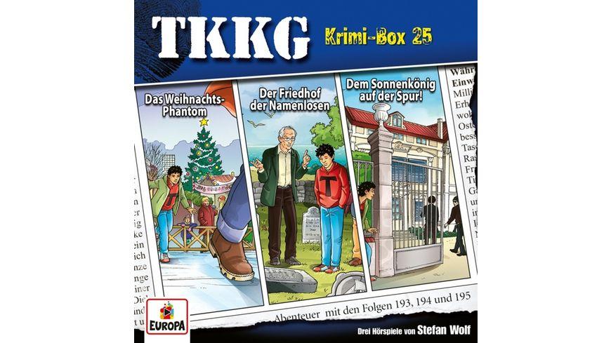 Krimi-Box 25 (Folgen 193,194,195)