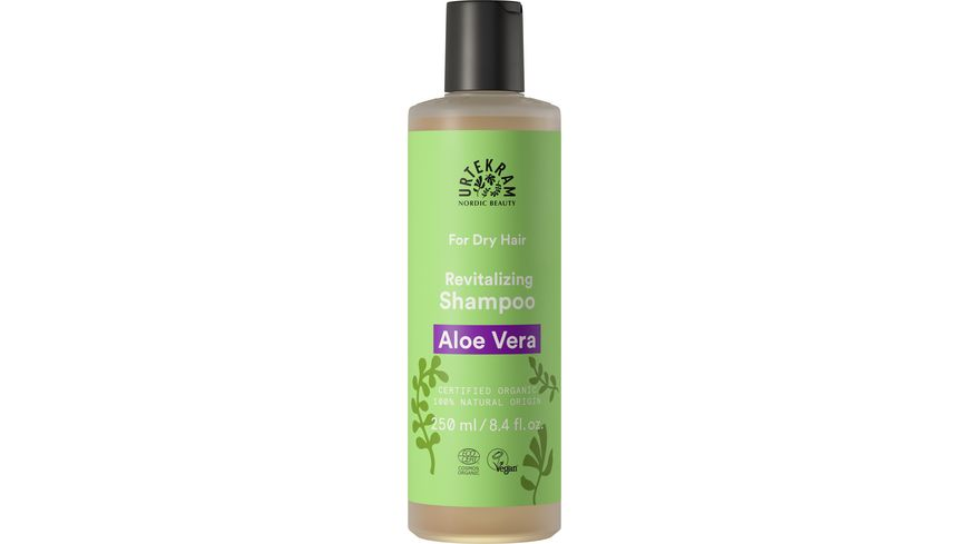 URTEKRAM For Dry Hair Revitalizing Shampoo Aloe Vera