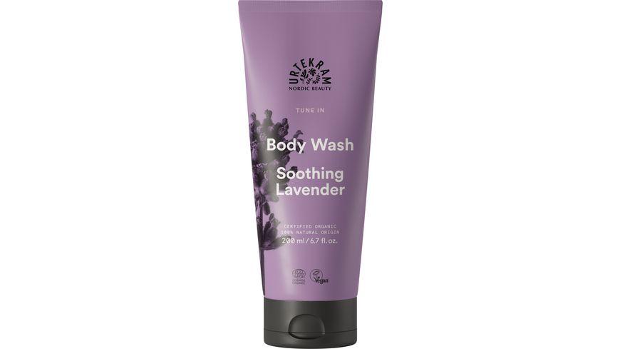 URTEKRAM Tune In Body Wash Soothing Lavender