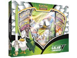 Pokemon Sammelkartenspiel Galar Lauchzelot V Box DE
