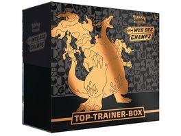 Pokemon Sammelkartenspiel Top Trainer Box der Erweiterung Weg des Champs