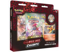 Pokemon Sammelkartenspiel Pin Kollektion Weg des Champs 1 Stueck sortiert