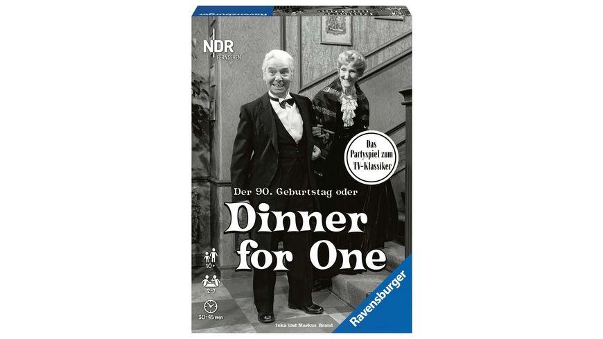 Ravensburger Spiel Der 90 Geburtstag oder Dinner for One