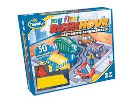 Thinkfun Rush Hour My first Rush Hour Das bekannte Stau Spiel fuer die ganz Kleinen