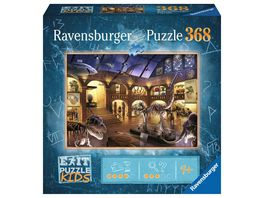 Ravensburger Puzzle EXIT Puzzle Kids Im Naturkundemuseum 368 Teile