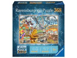 Ravensburger Puzzle EXIT Puzzle Kids Im Freizeitpark 368 Teile