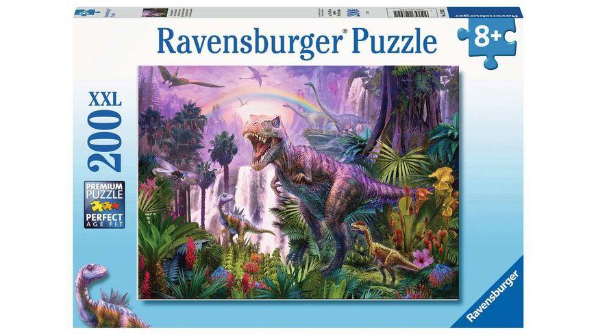 Ravensburger Puzzle - Dinosaurierland, 200 XXL Teile