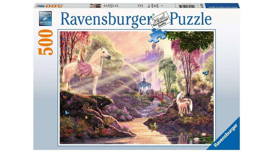 Ravensburger Puzzle - Märchenhafte Flussidylle - 500 Teile