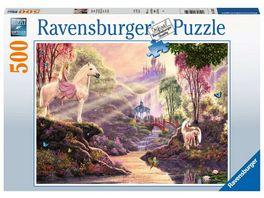Ravensburger Puzzle Maerchenhafte Flussidylle 500 Teile