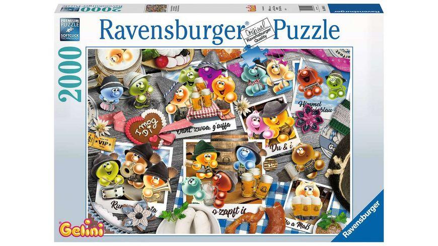 Ravensburger Puzzle - Gelini auf dem Oktoberfest - 2000 Teile