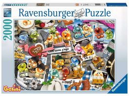 Ravensburger Puzzle Gelini auf dem Oktoberfest 2000 Teile