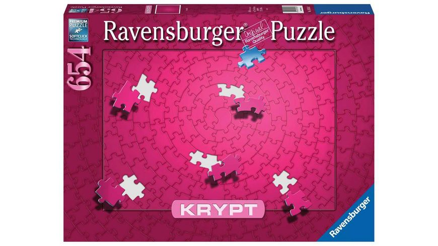 Ravensburger Puzzle - Krypt Pink - 654 Teile