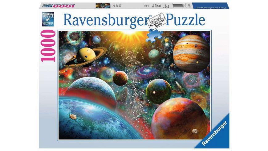 Ravensburger Puzzle - Planeten - 1000 Teile