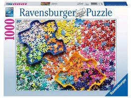 Ravensburger Puzzle Viele bunte Puzzleteile 1000 Teile