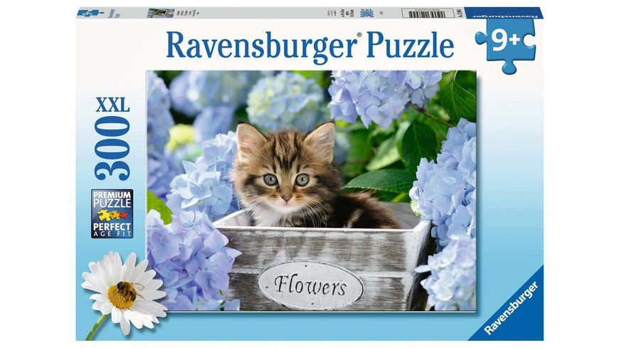 Ravensburger Puzzle - Kleine Katze, 300 XXL Teile
