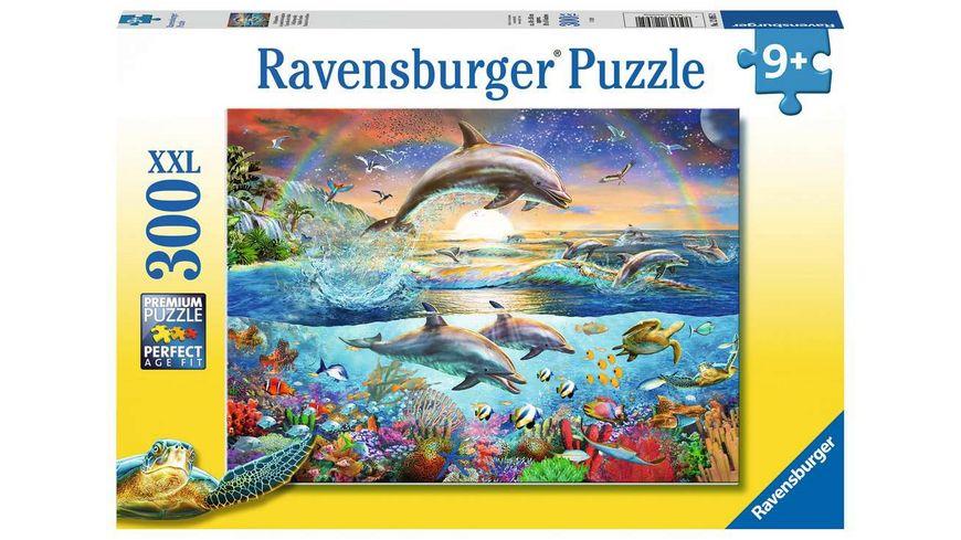 Ravensburger Puzzle - Delfinparadies, 300 XXL Teile