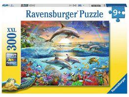 Ravensburger Puzzle Delfinparadies 300 XXL Teile