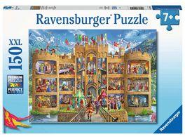 Ravensburger Puzzle Blick in die Ritterburg 150 XXL Teile