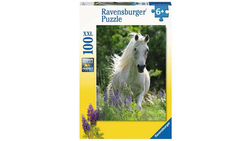 Ravensburger Puzzle - Weiße Stute, 100 XXL Teile