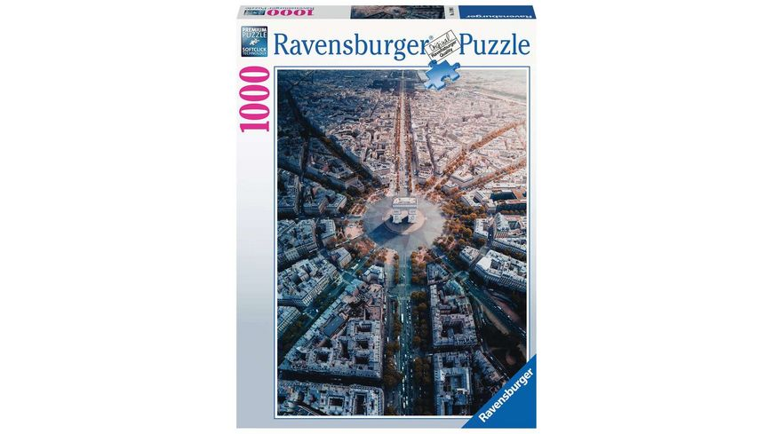 Ravensburger Puzzle Paris von Oben 1000 Teile