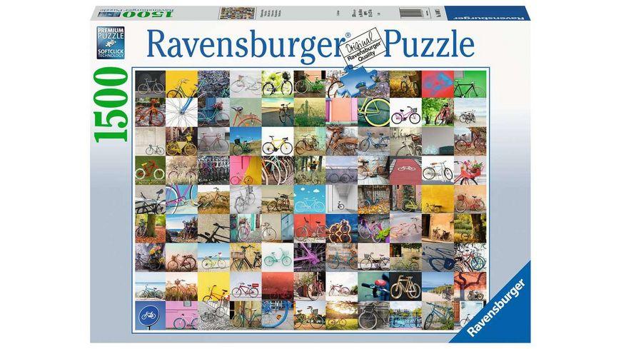 Ravensburger Puzzle - 99 Fahrräder und mehr... - 1500 Teile